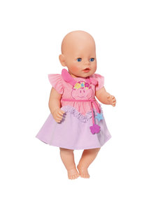 Zapf Creation Baby Born jurkje paars/roze