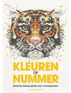 Kleuren op nummer - tijger