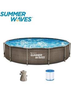 Summer Wave Zwembad Frame 305 x 76 cm.