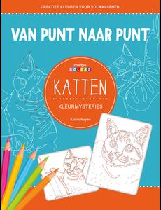 Lantaarn publishers Van punt naar punt - katten kleurmysteries