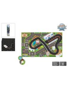 Kids Globe Speelkleed Racecircuit met LED verlichting