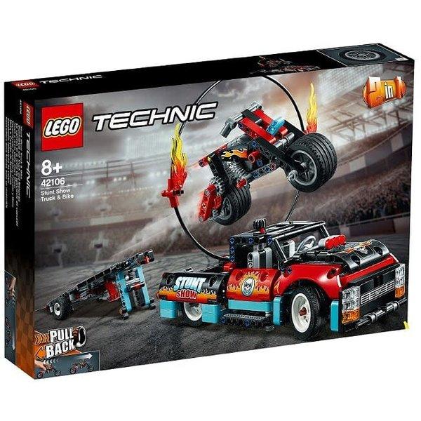 LEGO 42106 - Truck en motor voor stuntshow