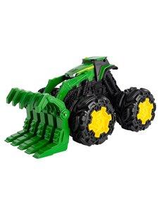 Tomy John Deere tractor met monsterwielen