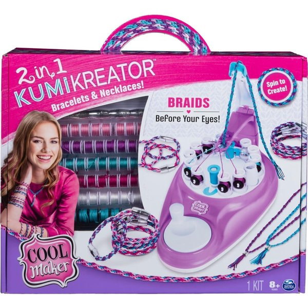Spinmaster Cool Maker Kumikreator 2 in 1