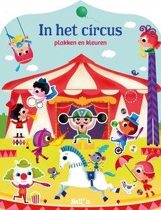 Ballon In het circus - plakken en kleuren