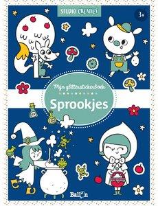 Ballon Mijn glitterstickerboek - Sprookjes