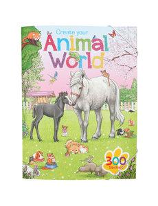 Depesche-TopModel Create your Animal World kleurboek