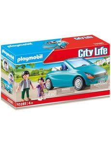 Playmobil 70285 - Cabrio met papa en meisje