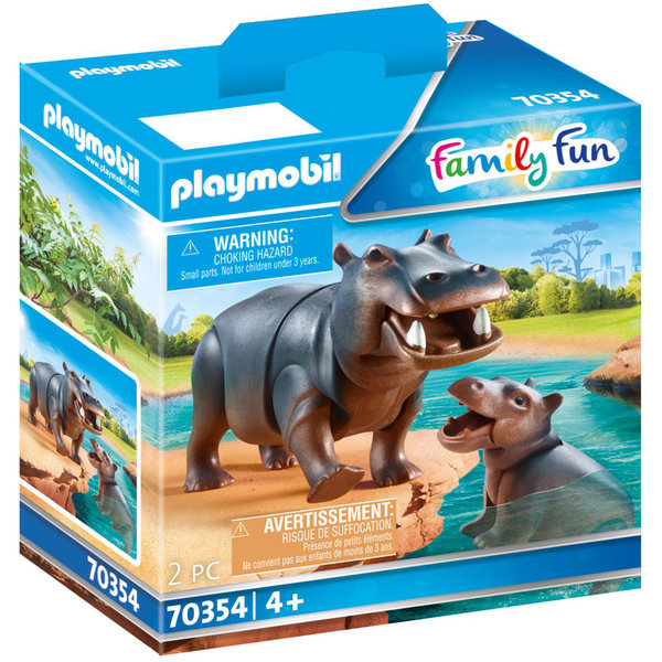 Playmobil 70354 -  Nijlpaard met baby
