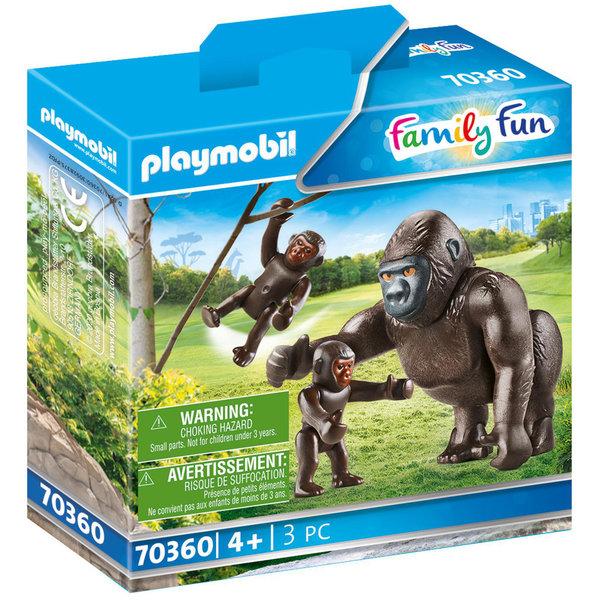 Playmobil 70360 - Gorilla met babies