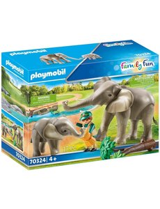 Playmobil 70324 - Olifantenverblijf