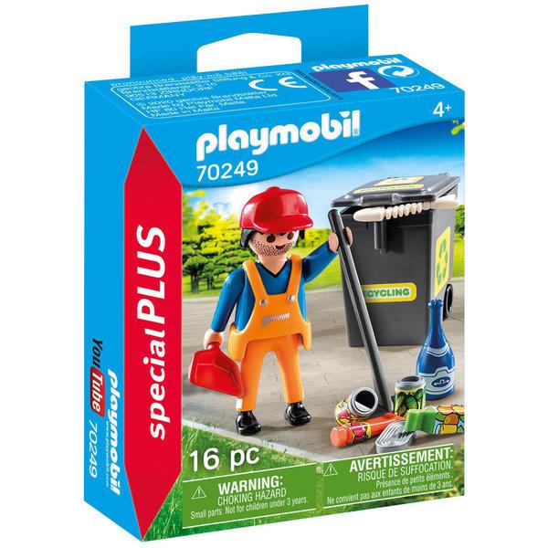 Playmobil 70249 - Straatveger