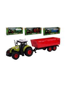 JohnToy Junior Farming tractor speelset met licht en geluid