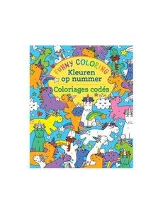Deltas Funny coloring- kleuren op nummer