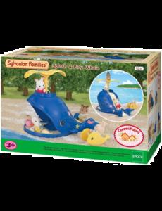Sylvanian Families 5211 - Splash en speel walvis