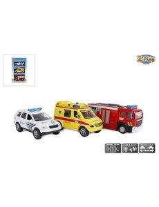 2-Play Rescue team, 3 hulpdiensten, BE, licht en geluid