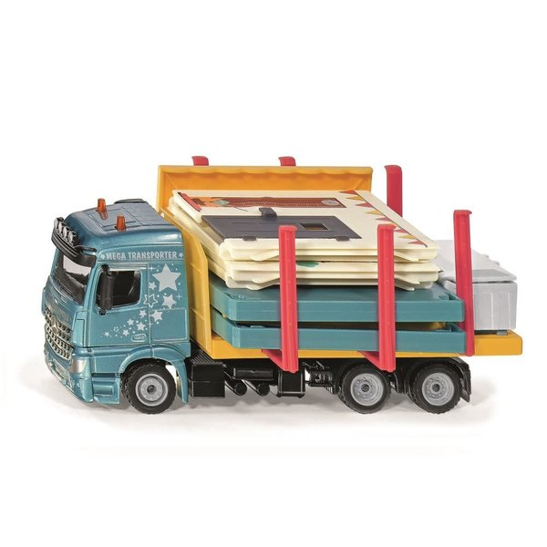 Siku 3562 - Vrachtwagen Prefab huis transport