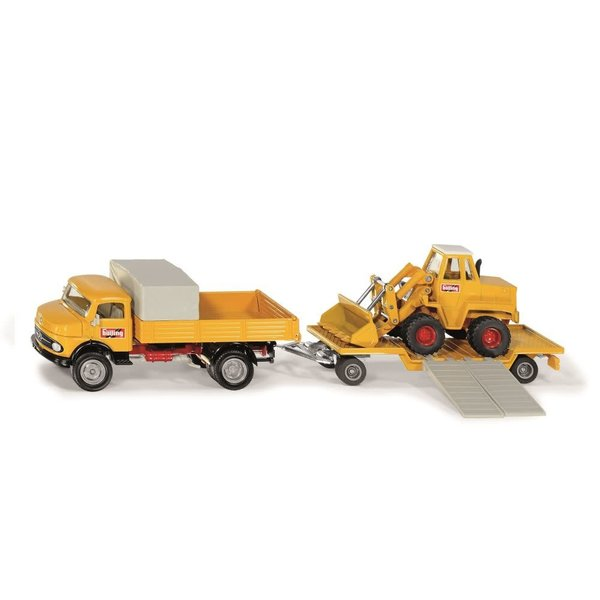 Siku 4117 - Mercedes Benz 710 met Kramer 411 shovel