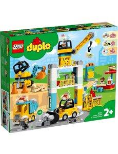 LEGO 10933 - Torenkraan en Bouwterrein
