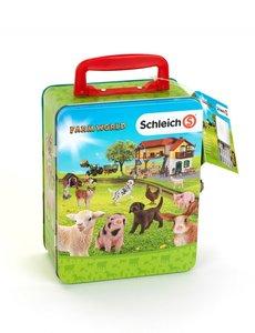 Schleich 3113 - Verzamelkoffer Schleich farm world