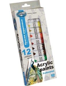 Acryl verf 12 tubes