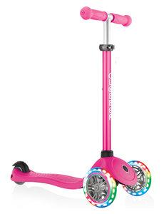 Globber Primo V2 met licht in de wielen roze