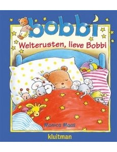 Kluitman Bobbi - Welterusten, lieve Bobbi - boek met knuffeldoek