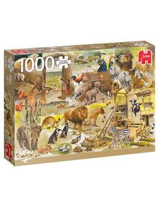 Jumbo De constructie van de Ark van Noach - Rien Poortvliet - 1000 st.