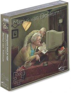 Marius van Dokkum Meegaan met je tijd  1000 st.