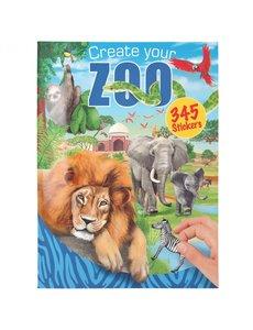 Depesche-TopModel Create your Zoo stickerboek