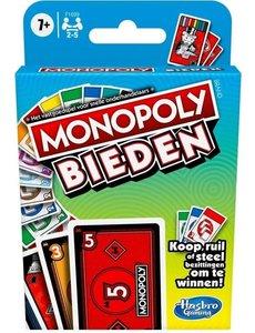 Hasbro Monopoly bieden - kaartspel