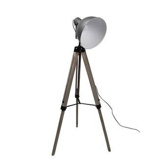 Dimehouse Spotter Lampadaire Industriel - Métal