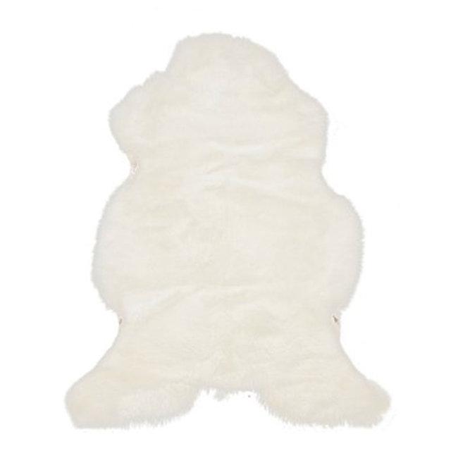 Dimehouse Peau De Mouton Blanc 85 x 65 cm