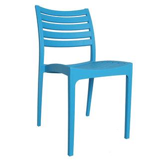 Dimehouse Senna Chaise De Jardin Bleu Moderne - Plastique
