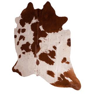 Dimehouse Peau De Vache Brun-Blanc 140 x 200 cm