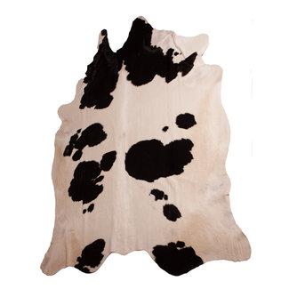 Dimehouse Peau De Vache Noir-Blanc 140 x 200 cm