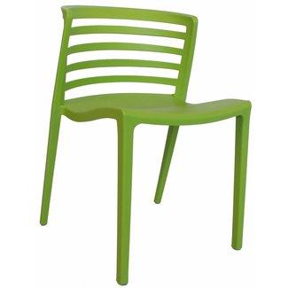 Dimehouse Norrie Chaise De Jardin Vert Lime Moderne - Plastique