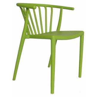 Dimehouse Nour Chaise De Jardin Vert Lime Moderne - Plastique