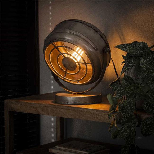 Dimehouse Bame Lampe De Chevet Industrielle Métal