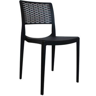 Dimehouse Evora Chaise De Jardin Design  - Noir