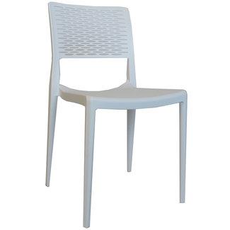 Dimehouse Evora Chaise De Jardin Design  - Blanc