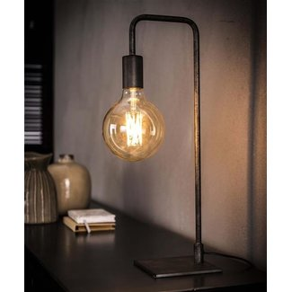 Dimehouse Lola Lampe De Table Industriel  - Verre