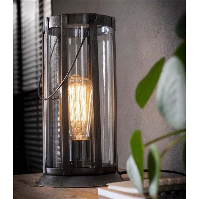 Dimehouse Mila Lampe De Table Industriel  - Verre