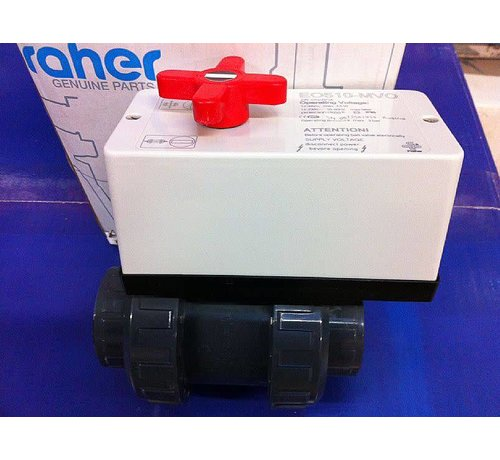 Praher 2-wegskraan 50mm met motor