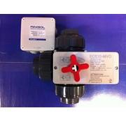 Praher 3-wegskraan 50mm met minisol temperatuurscontroller
