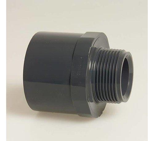 Plimat Puntstuk met zes-/achtkant 40/50X1 1/4 bu. 16bar