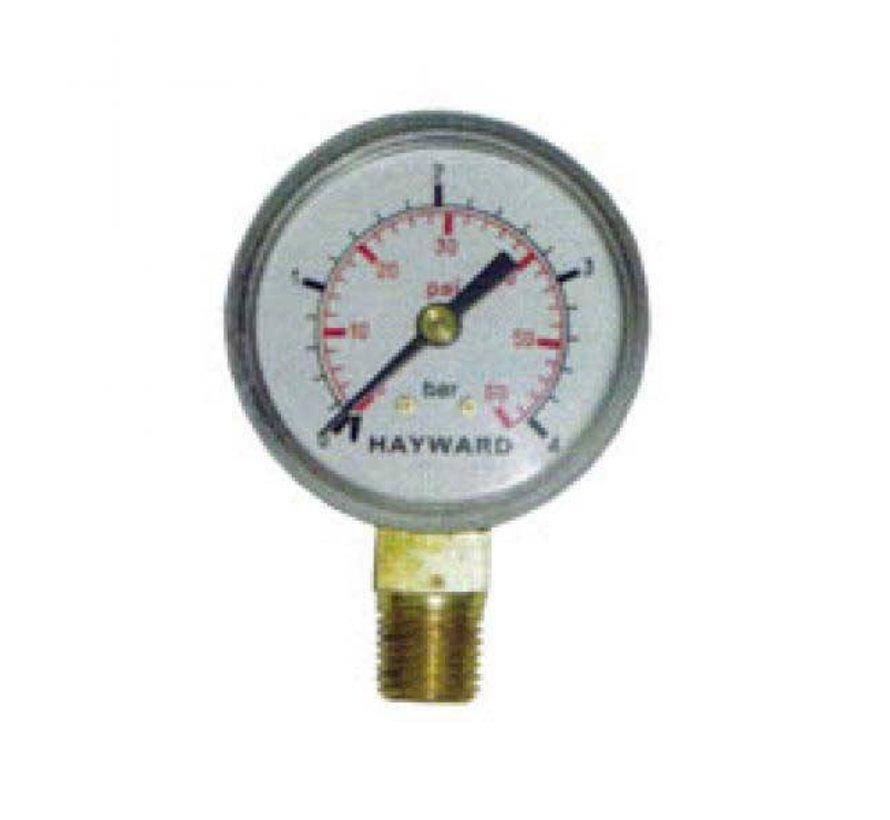 Manometer (drukmeter) voor Zwembadfilter HAYWARD