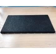 Rubber mat 50x50cm voor geluidsisolatie en demping