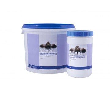 B-care 1 kg Chloor tabletten traag voor uw Intex Zwembad