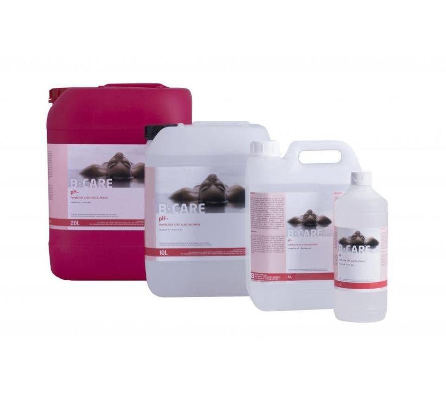 Vloeibare pH min - 37,5% - Zwavelzuur - 20L